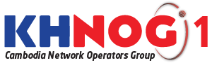 Cambodia Network Operators Group - KHNOG Logo